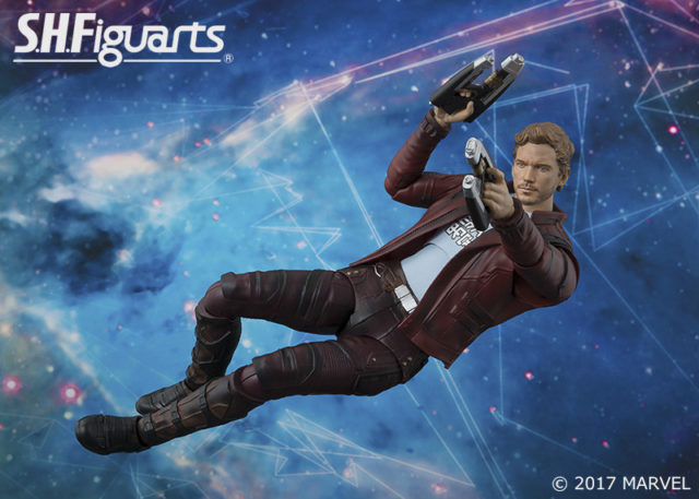 SH Figuarts Star-Lord Figure Bandai Chris Pratt