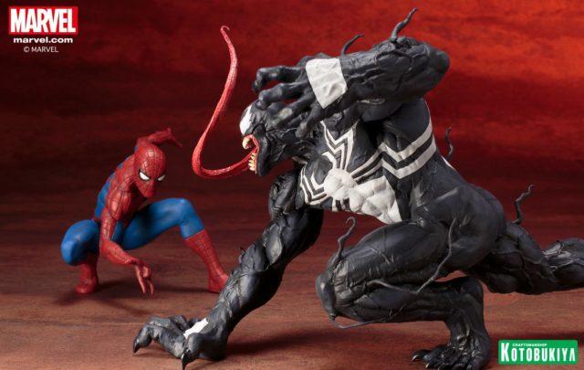 Spider-Man Kotobukiya Venom ARTFX+ Statue 2017