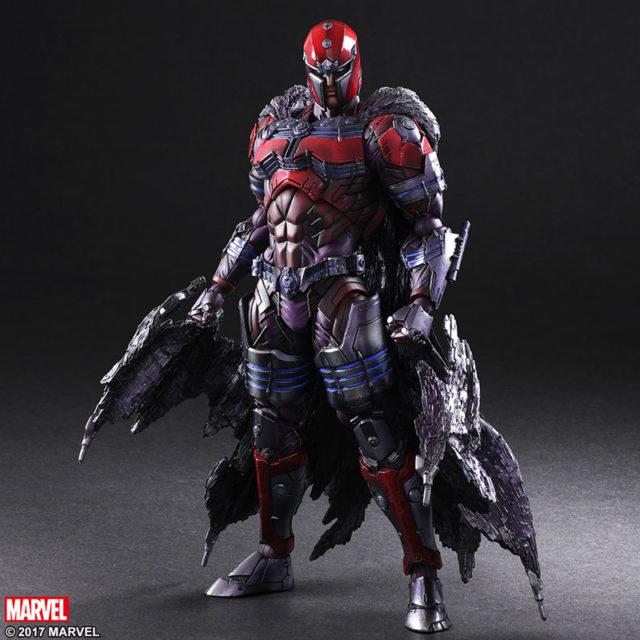 Square-Enix Marvel Play Arts Kai Variant Magneto Figure