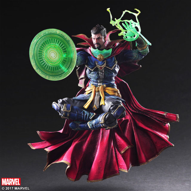 Square-Enix Play Arts Kai Doctor Strange Figure Levitating
