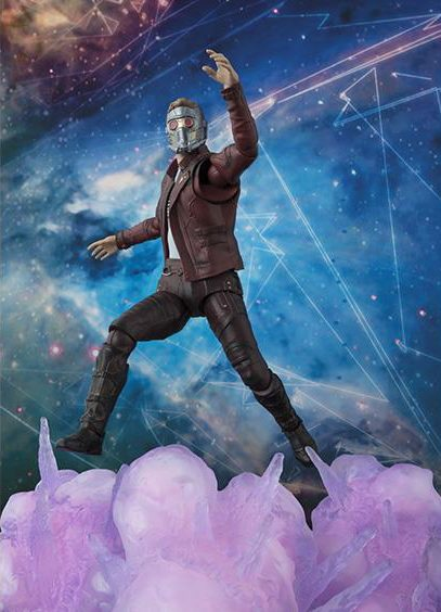 Star-Lord SH Figuarts Figure US Release with Explosions