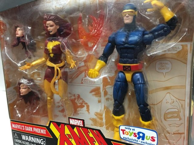 Toys R Us Exclusive Marvel Legends Dark Phoenix and Cyclops Two Pack