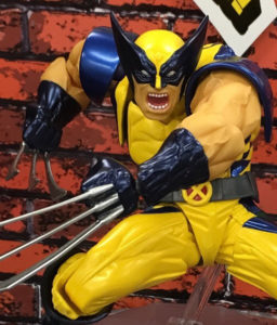 Wolverine Revoltech Action Figure Close-Up