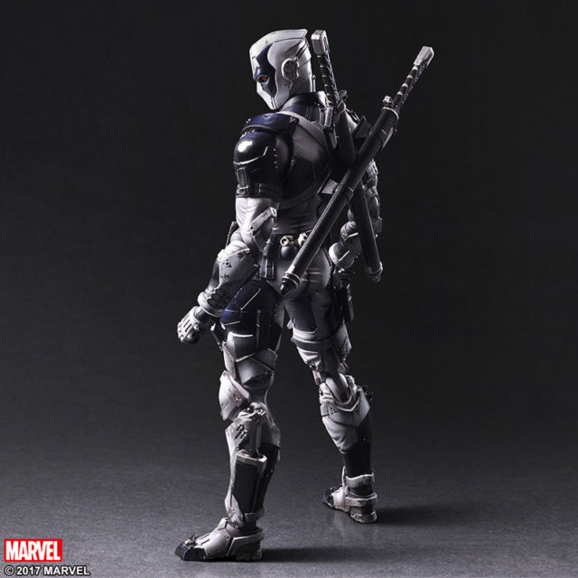 Back of X-Force Deadpool PAK Square-Enix Figure
