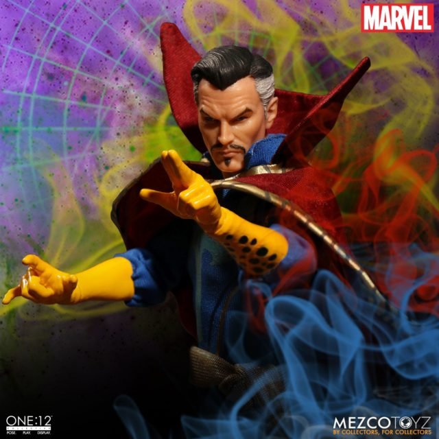 Close-Up of Doctor Strange ONE 12 Collective Figure Head