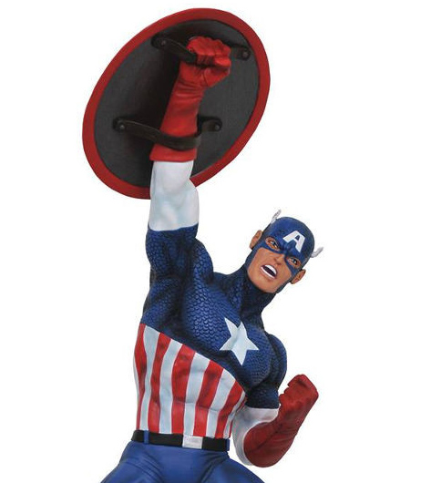 Diamond Select Toys Captain America Premier Statue