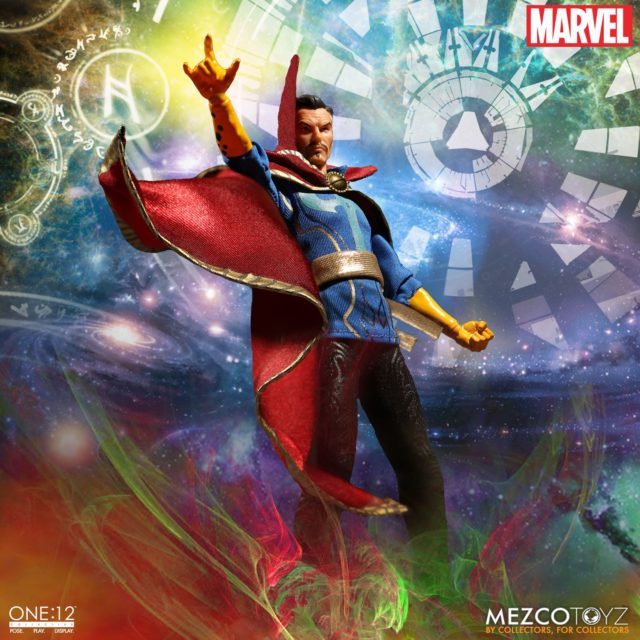 Doctor Strange Mezco ONE 12 Collective Figure Poseable Cloak of Levitation Cape