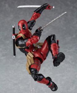 Figma Deadpool Figure Leaping Super Articulation