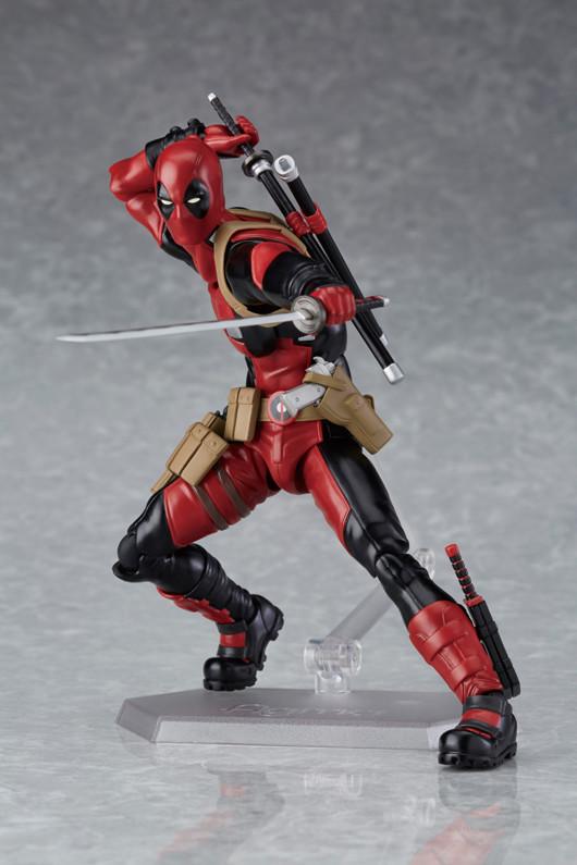 Good Smile Company Deadpool Figure Figma with Katana Swords