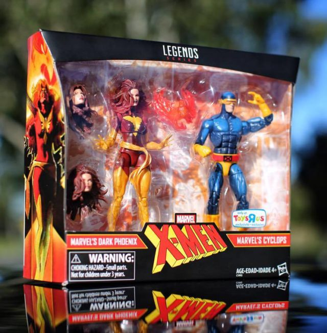 Hasbro Marvel Legends Cyclops Dark Phoenix Set Box