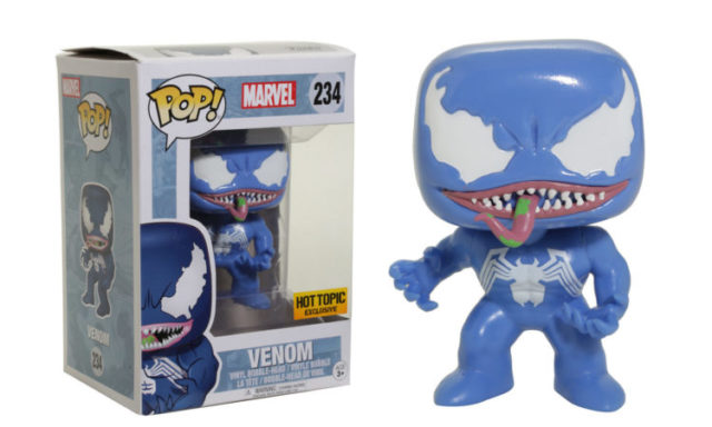 Hot Topic Exclusive Blue Venom POP Vinyls Figure