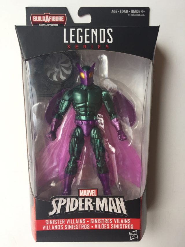 Spider-Man Homecoming Marvel Legends Beetle Figure Review