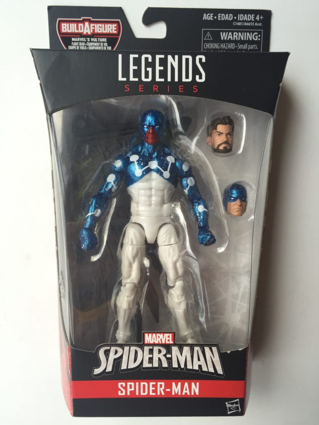 Marvel Legends Spider-Man Homecoming Cosmic Spider-Man Packaged