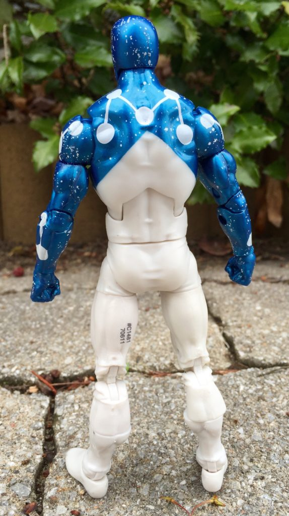 "Back of Captain Universe Spider-Man Marvel Legends 6"" Figure"