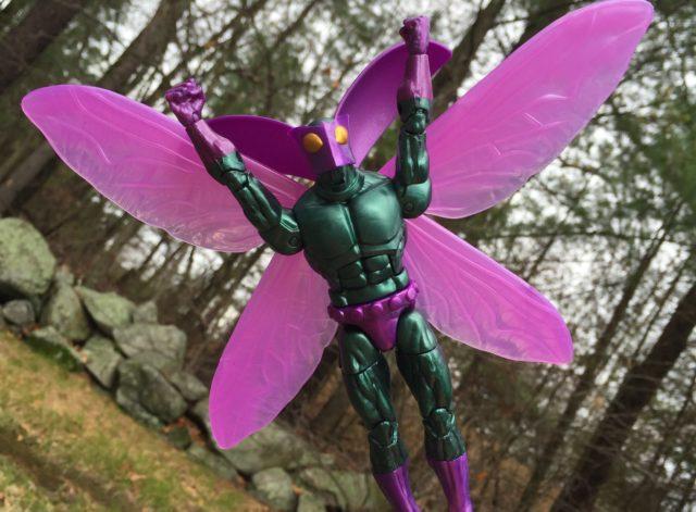 2017 Marvel Legends Beetle Figure Flying