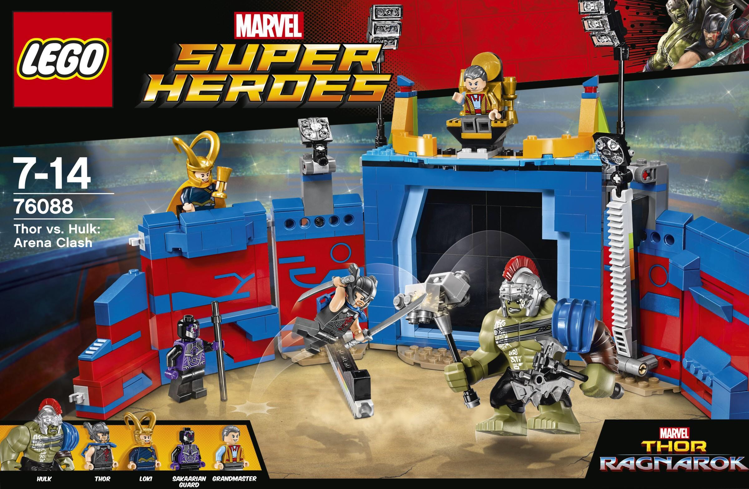LEGO Thor Ragnarok Sets Revealed & Photos! Gladiator Hulk ...