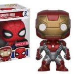 Funko Spider-Man Homecoming POP Vinyl Exclusives! Iron Man!