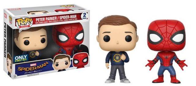 Best Buy Exclusive Spider-Man Homecoming POP Vinyl Two-Pack