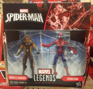 Marvel Legends Spider-Man vs. Shocker Two-Pack Packaged