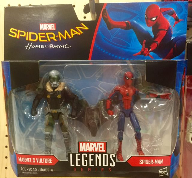 Marvel Legends Spider-Man Homecoming Vulture Spider-Man 2-Pack Packaged