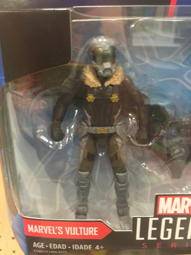 Marvel Universe Movie Vulture Figure Close-Up