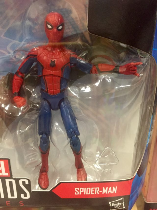 "Marvel Legends Spider-Man Homecoming 3.75"" Movie Figure Close-Up"