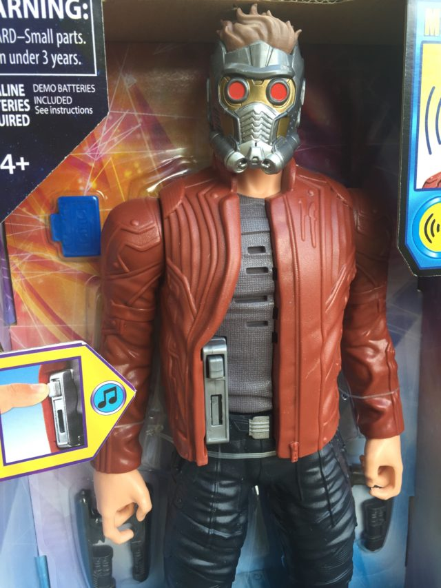 Electronic Music-Mix Star-Lord Figure Features