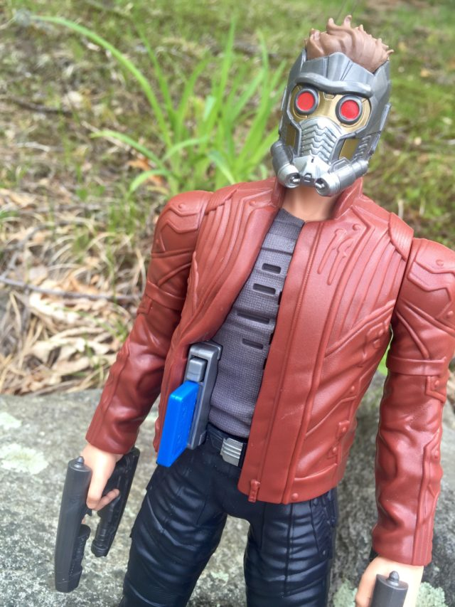 Close-Up of Star Lord Music Mix Hasbro Figure