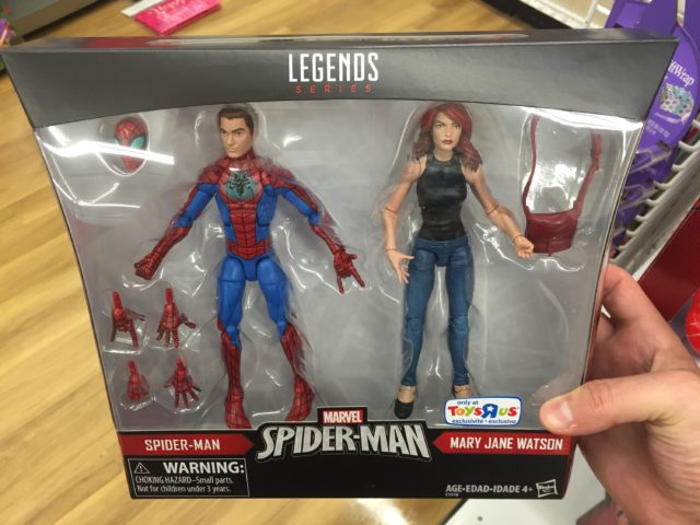 Spider-Man Marvel Legends Mary Jane Pack In Hand