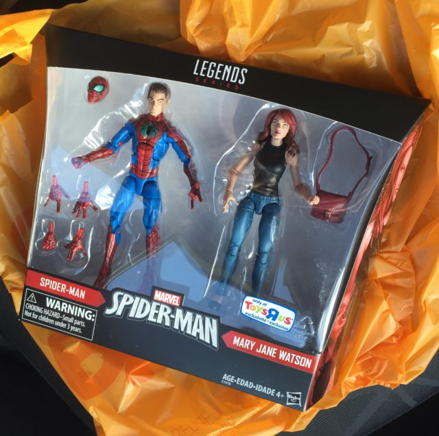 Spider-Man Marvel Legends Mary Jane Set Released in the U.S.