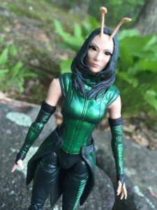 Close-Up of Marvel Legends 2017 Mantis Build A Figure