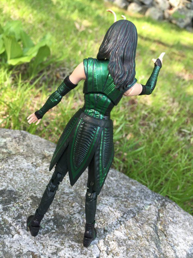 Back of Marvel Legends Mantis Build-A-Figure