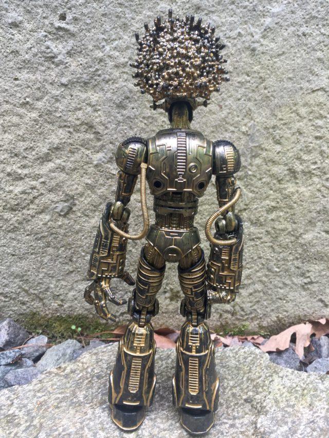 Back of X-Men Legends Warlock Figure Build-A-Figure
