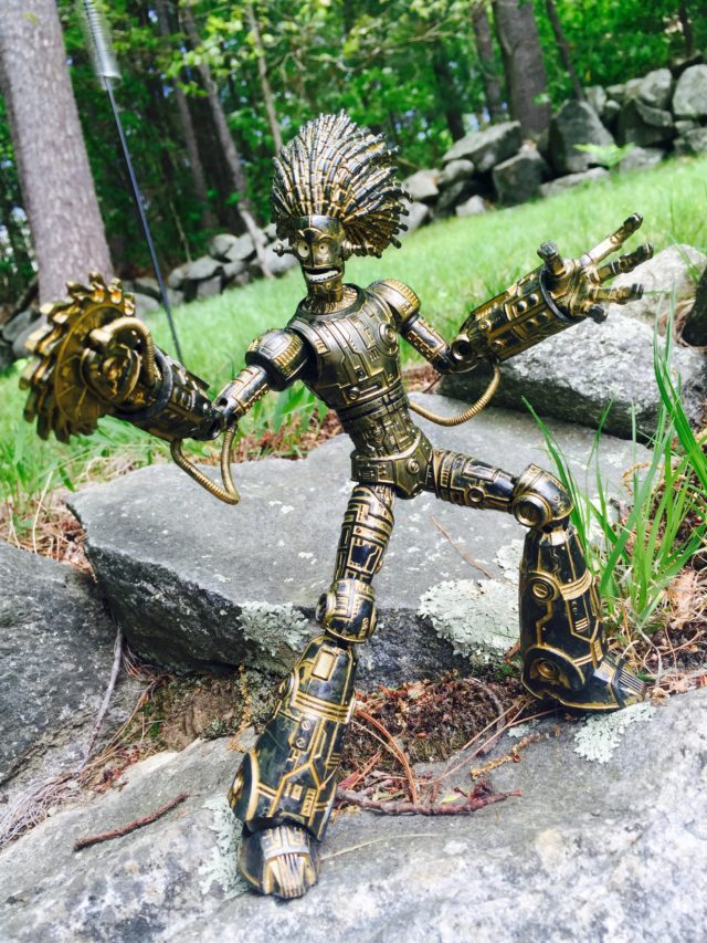 Marvel Legends Warlock Build-A-Figure Review