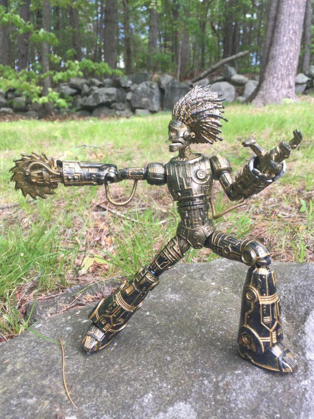 Hasbro Marvel Legends Warlock Figure with Buzzsaw Arm