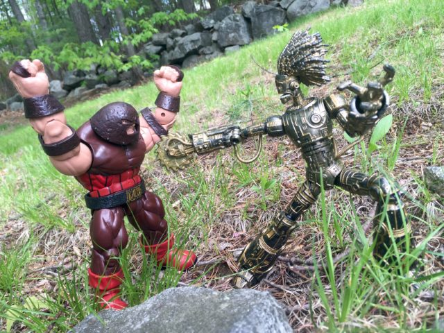 Marvel Legends X-Men Build-A-Figure Juggernaut vs. Warlock