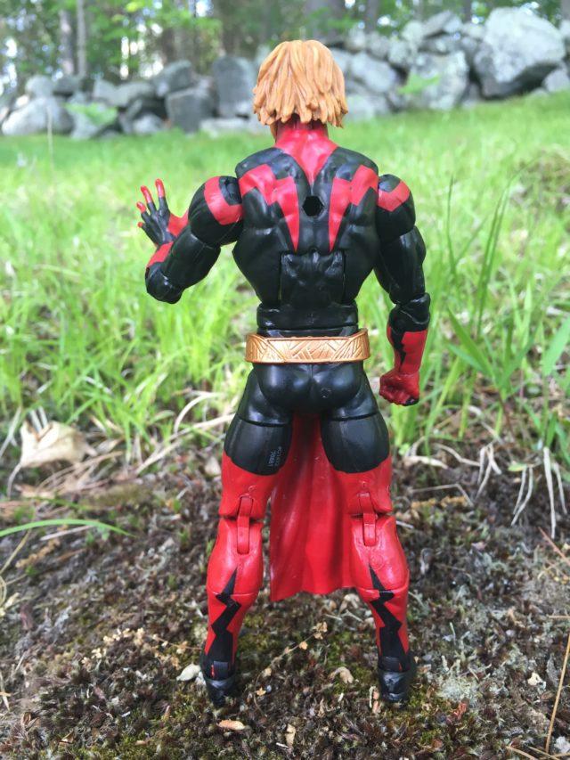 Back of Marvel Legends 2017 Adam Warlock Figure