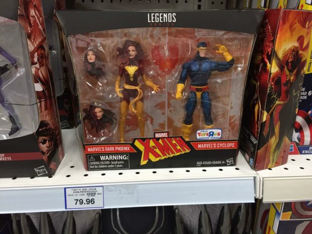 Cyclops Dark Phoenix Marvel Legends Pack On Shelf Price