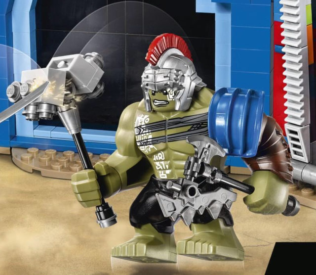 LEGO Gladiator Hulk Figure