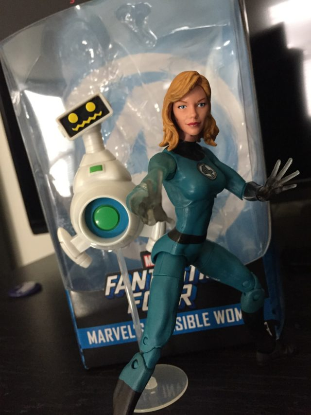 Marvel Legends 2017 Walgreens Exclusive Invisible Woman Figure and HERBIE Robot