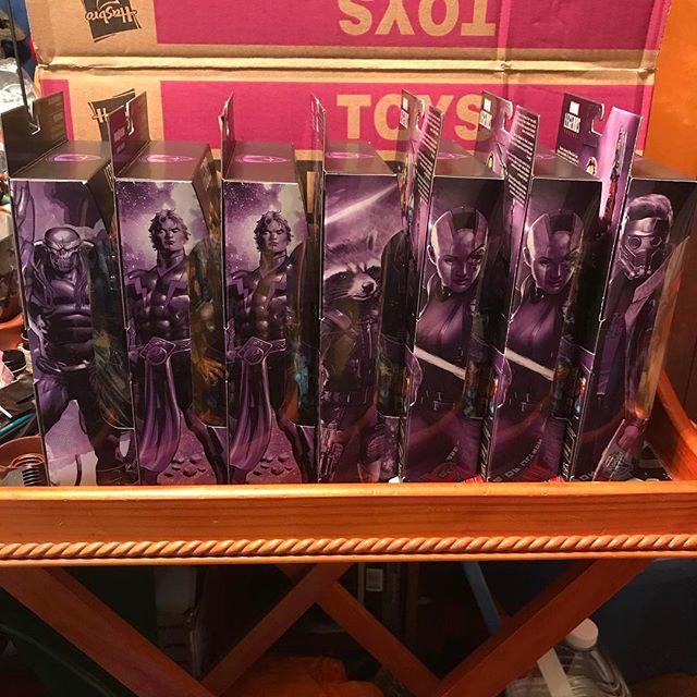 Marvel Legends GOTG Wave 2 Figures Packaging Side Artwork