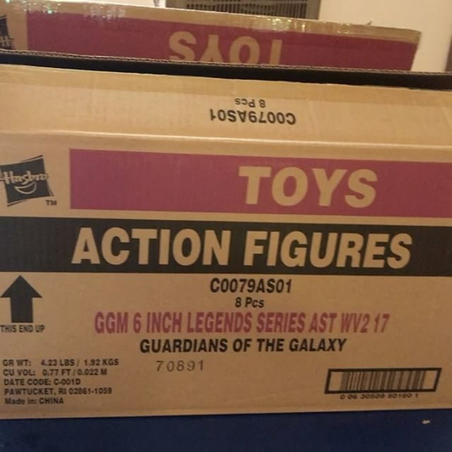 Marvel Legends Guardians of the Galaxy Wave 2 Case
