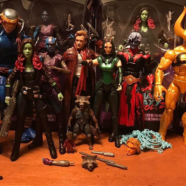 Marvel Legends Guardians of the Galaxy Wave 2 Figures In-Hand