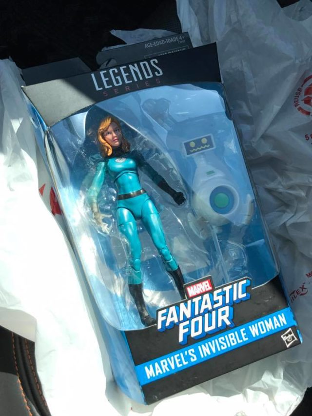 Marvel Legends Invisible Woman Released Walgreens Exclusive