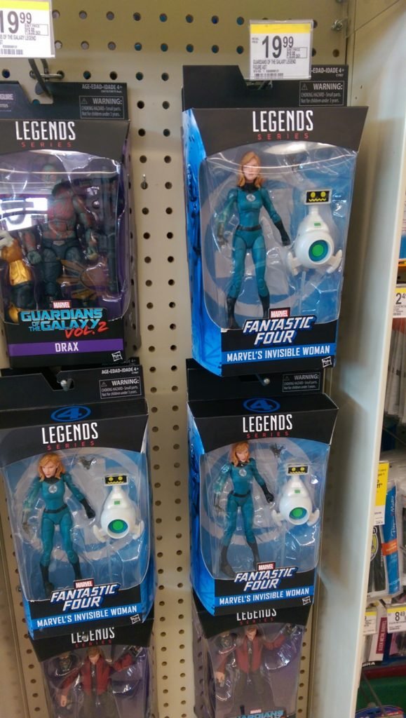 Marvel Legends Invisible Woman Walgreens Exclusive Figure Released