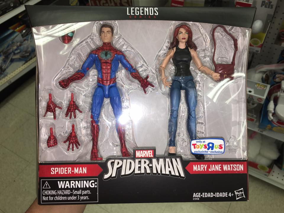 Marvel Legends Exclusives Released! Mary Jane! Invisible Woman ...