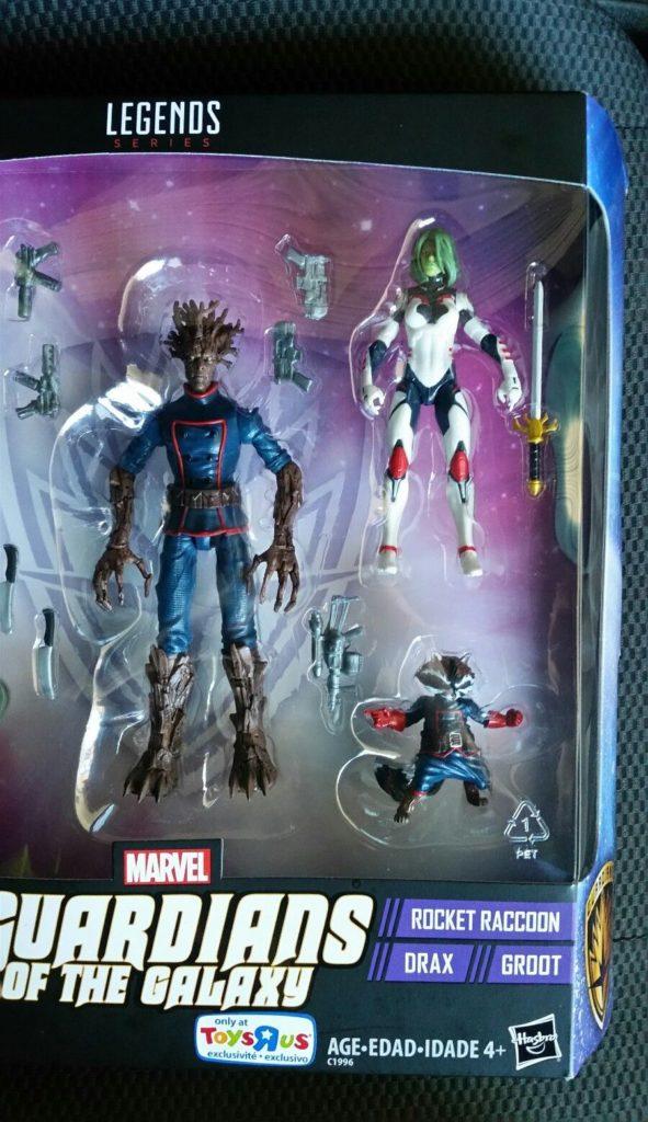 Marvel Legends Universe Gamora Rocket Raccoon Toys R Us Exclusives