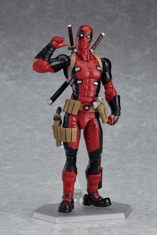 Max Factory Deadpool Figma Figure Revealed