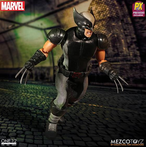 Mezco ONE 12 Collective X-Force Wolverine Six Inch Figure