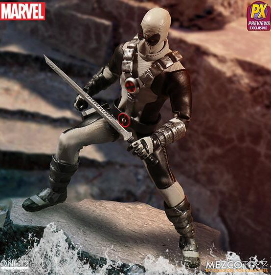 ONE 12 Collective Exclusive X-Force Deadpool Variant Figure